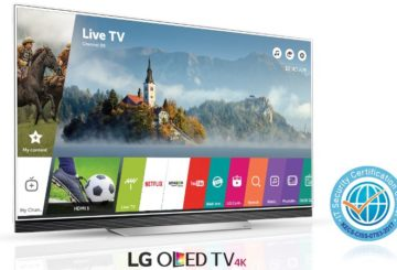 To Smart TV WebOS 3.5 της LG έλαβε πιστοποίηση CC για την ασφάλεια. Στην εικόνα η OLED E7 4K TV.