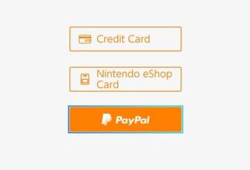 PayPal Nintendo eShop