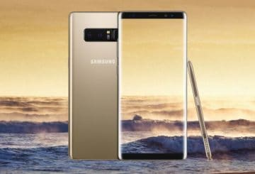 Samsung Galaxy Note8, Maple Gold (φωτό: Samsung)
