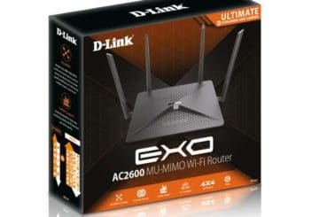 To DIR-882 EXO AC2600 MU-MIMO Wi-Fi Gigabit Router από τη D-Link στην IFA 2017 (φωτό: D-Link)