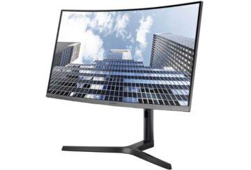 Το επαγγελματικό, κυρτό monitor Samsung 27CH80 (φωτό: Samsung)