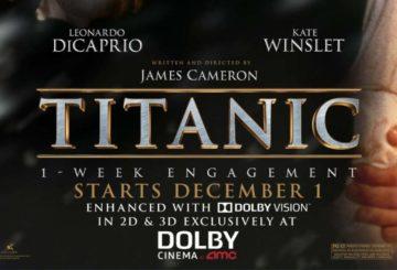 Τιτανικός Dolby Vision