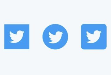 Twitter social icons