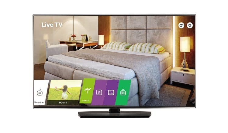 LG ProCentric Smart 4K Hotel TV