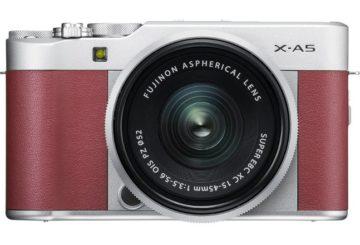 Fujifilm-X A5 red