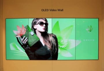 LG OLED Video Wall