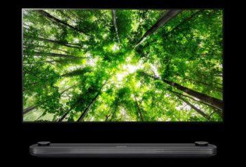 LG TV 2018 - SIGNATURE W8 oled tv