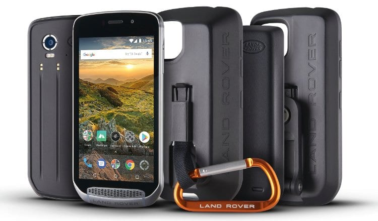 land rover explore review outdoor phone