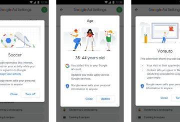 νεες ρυθμίσεις διαφημίσεων google 2018