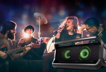 Φορητά Bluetooth ηχεία LG PK7 - 40W με APT-X HD codec