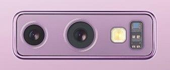 galaxy note9 dual aperture camera