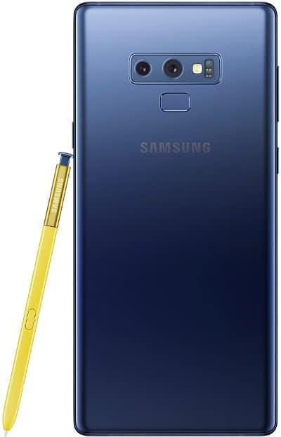 samsung galaxy note9 s-pen back