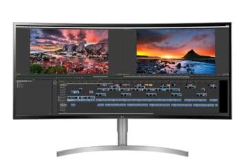 38WK95C-W review Κυρτό 21:9 UltraWide monitor