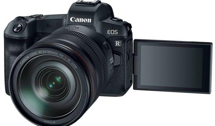 canon eos r camera-lens