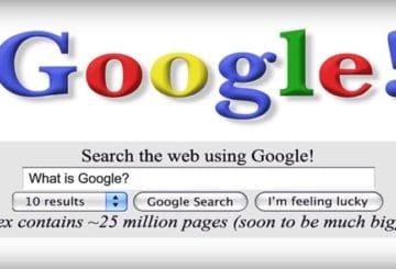 Google: 20 χρόνια Αναζήτησης στο Διαδίκτυο