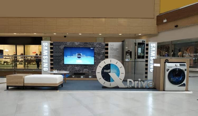 Οι τεχνολογίες της Samsung στο The Mall Athens