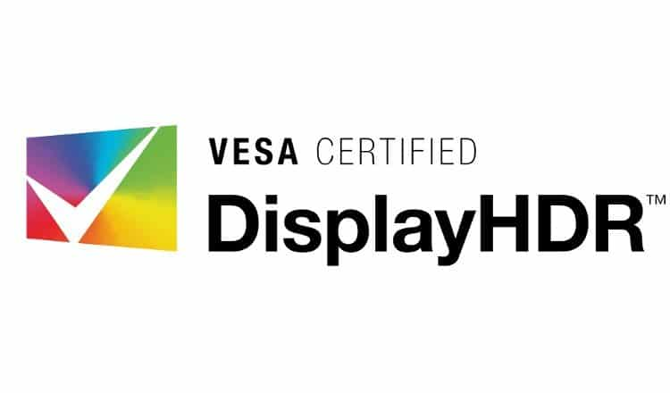 Vesa Certified DisplayHDR