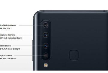 Galaxy A9 με τετραπλή κάμερα