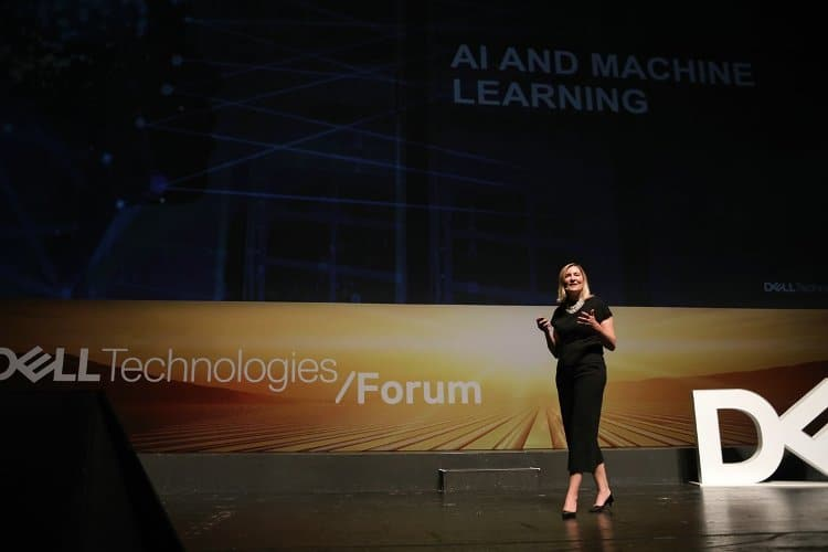 Geraldine Tunnell, Dell Technologies Forum 2018, Athens