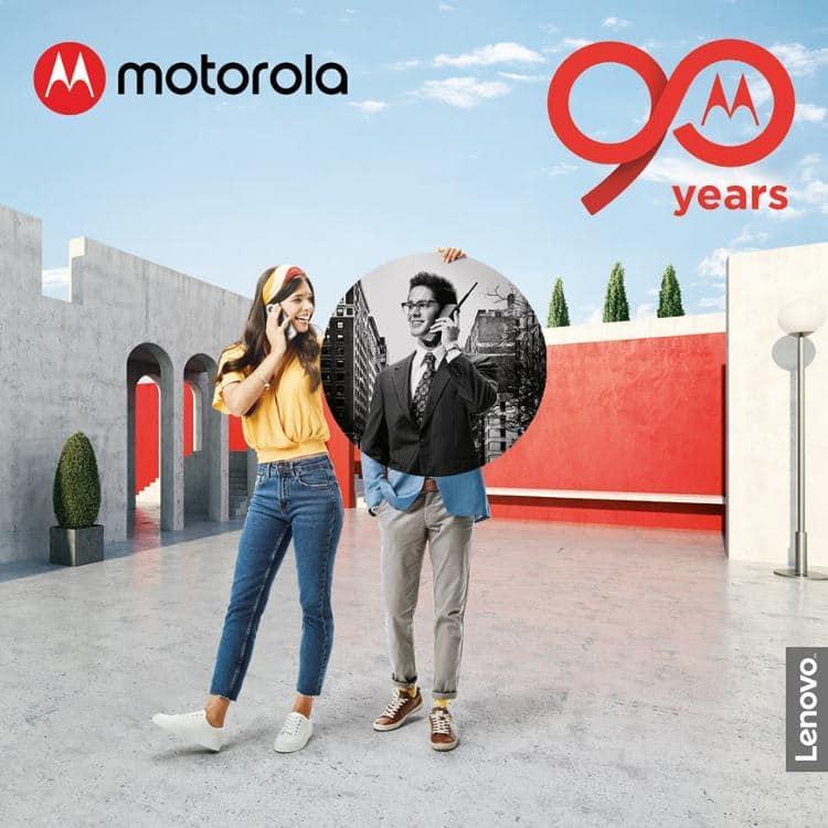 motorola 90 years