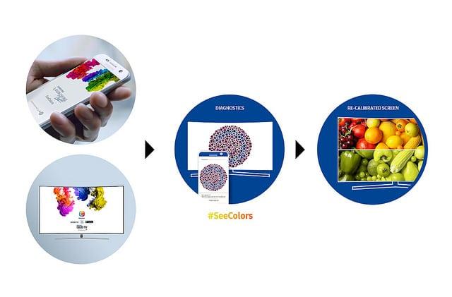 samsung seecolors app