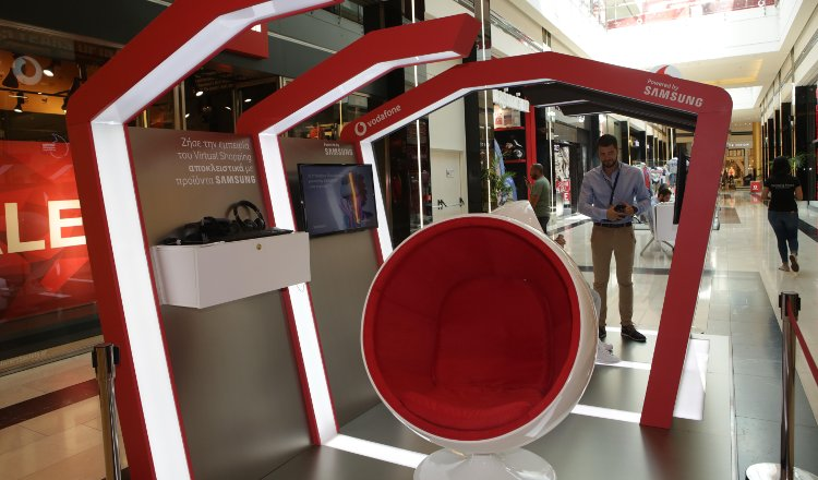Vodafone VR store powered by Samsung - Athens