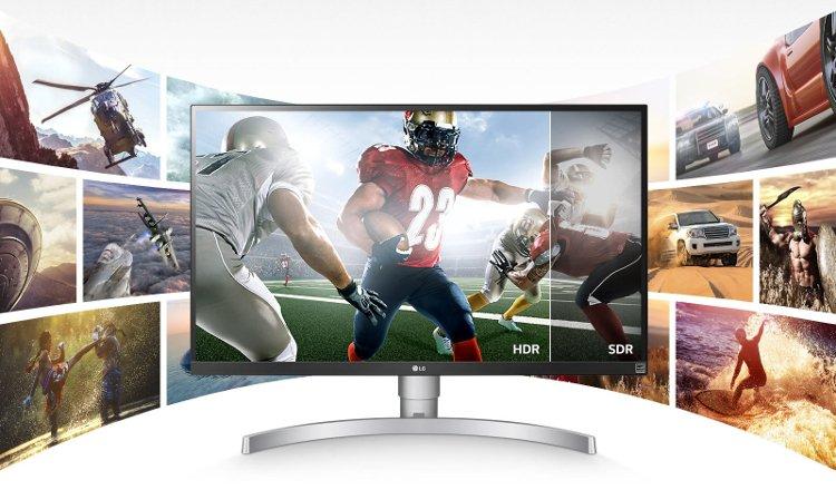 LG 27UK650-W - Τα LG 4K monitors στην Ελλάδα