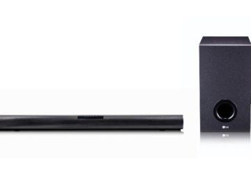 LG SJ2 Sound bar