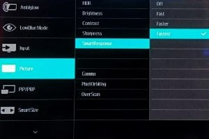 Philips 436m6 SmartResponse Picture menu