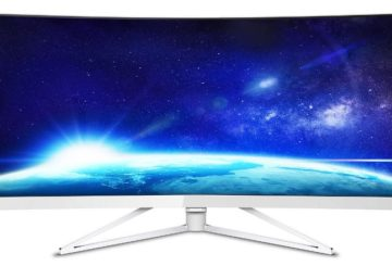 "Philips 349X7FJEW review - 34"" Κυρτή UltraWide 21:9 οθόνη"