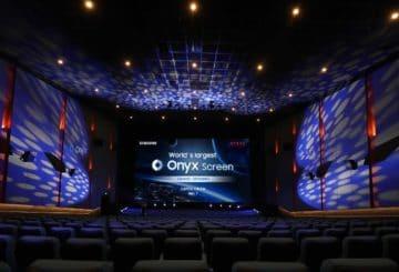 H μεγαλύτερη Onyx Cinema LED οθόνη στον κόσμο