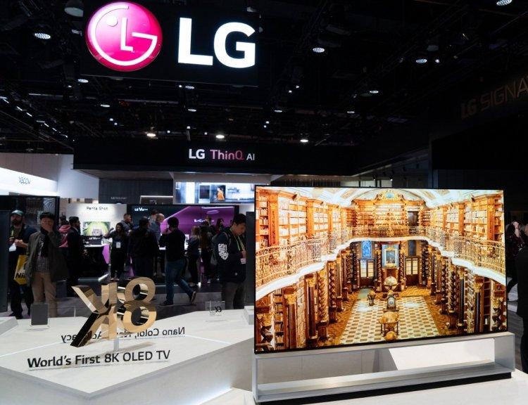 LG OLED88Z9 CES 2019