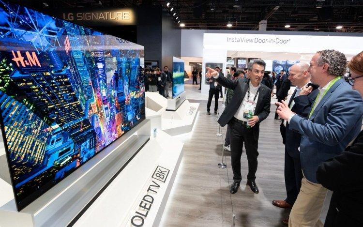 LG OLED88Z9, CES 2019