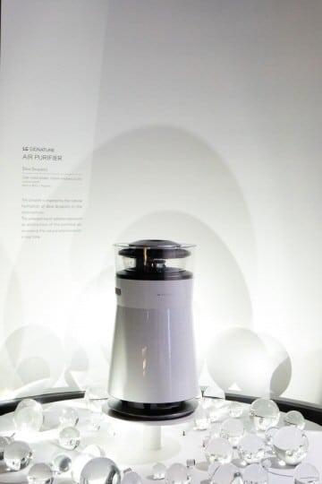 LG Signature Air Purifier, CES 2019