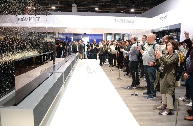 LG OLED R, CES 2019