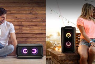 LG XBoom rk7 speaker