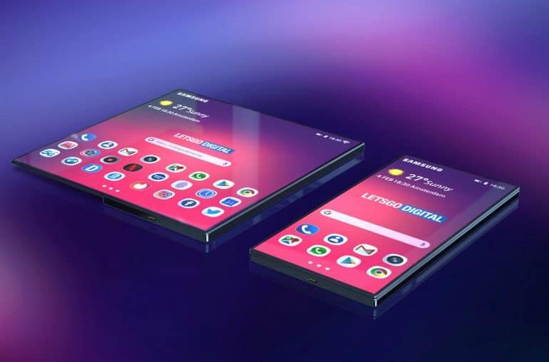 Το αναδιπλούμενο smartphone της Samsung (renders & video)
