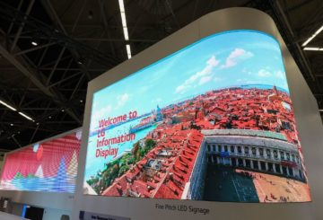 LG Information Displays στην ISE 2019
