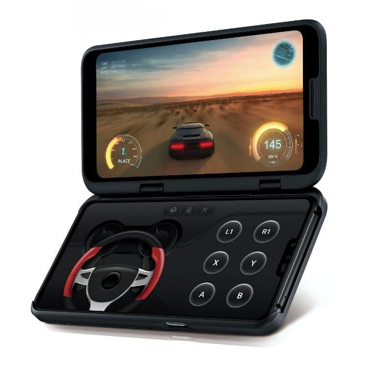 LG V50 με Διπλή Οθόνη.