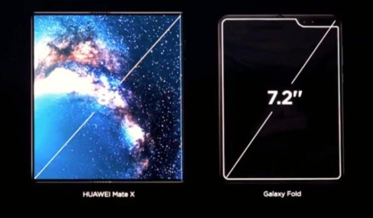 mate x vs galaxy fold