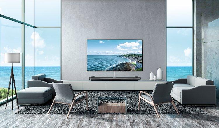 lg OLED Wallpaper Hotel TV WU960H