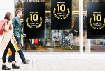 samsung digital signage 10 years