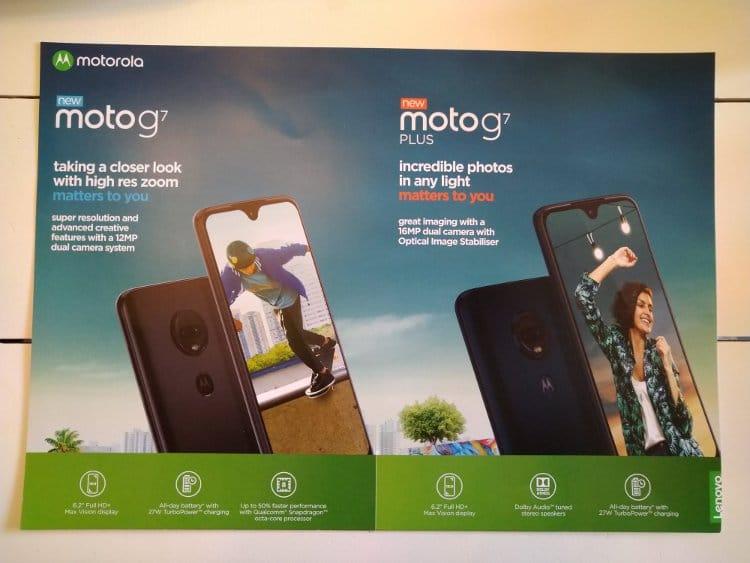 Τα κύρια χαρακτηριστικά των Moto G7 και Moto G7 Plus