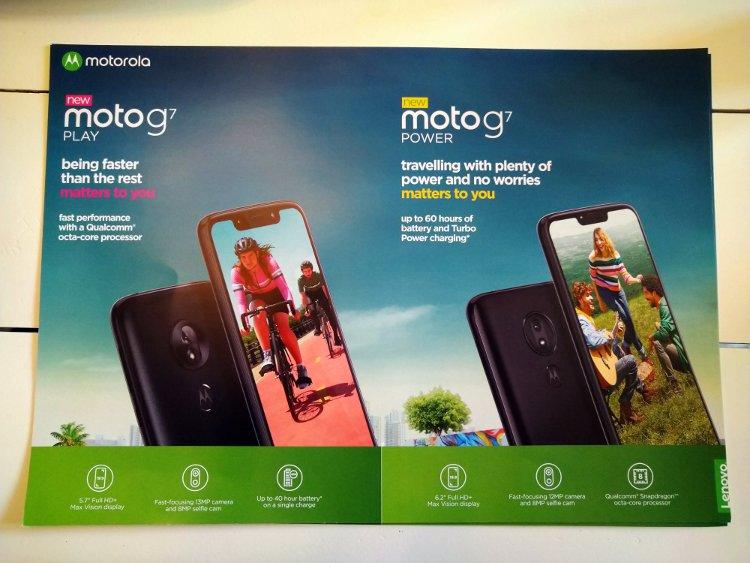 Τα κύρια χαρακτηριστικά των Moto G7 Play και Moto G7 Power