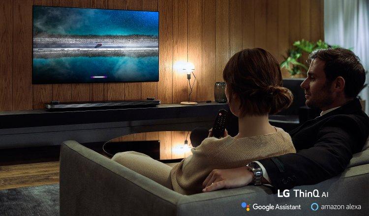 LG TV 2019 με Amazon Alexa