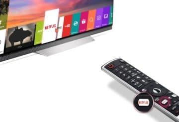 Netflix ήχος και LG TV