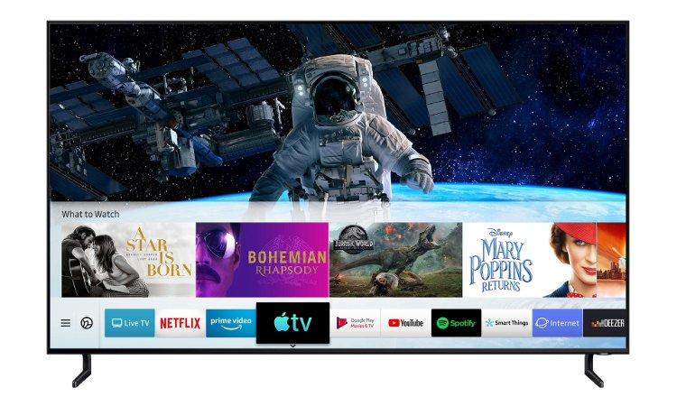 Samsung TVs με Apple TV και AirPlay 2