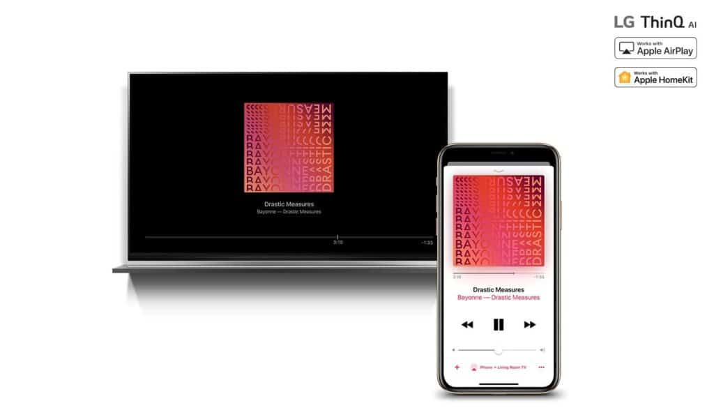 LG TV με Apple Airplay2 και Homekit