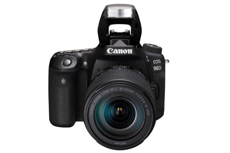 canon eos 90d flash