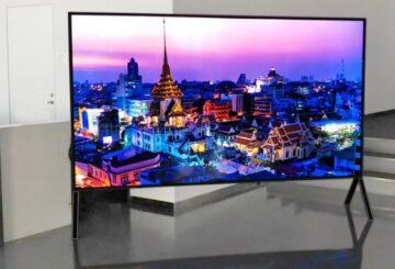 "Sharp 8K LCD TV 120"", 5G"